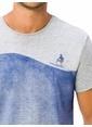 LC Waikiki Baskılı Tişört Gri